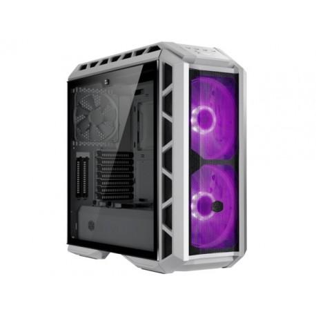 OBUDOWA COOLER MASTER MASTERCASE H500P MESH WHITE MIDI TOWER Z OKNEM BEZ PSU WENTYLATOR LED RGB