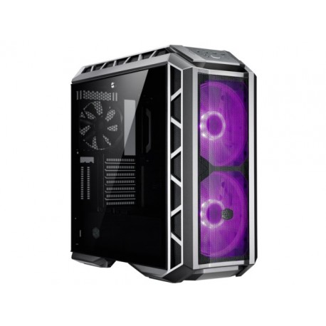 OBUDOWA COOLER MASTER MASTERCASE H500P MESH GUNMETAL MIDI TOWER Z OKNEM BEZ PSU WENTYLATOR LED RGB