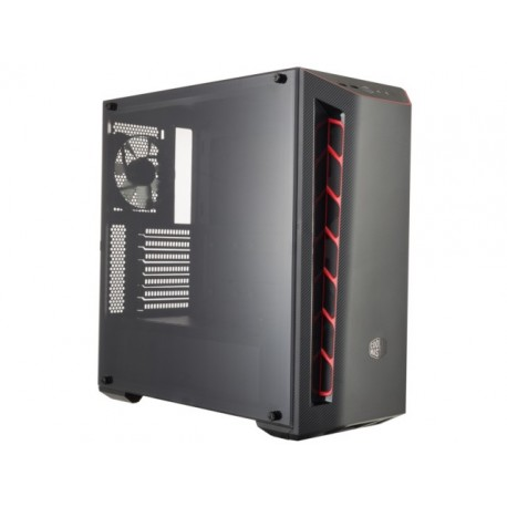 OBUDOWA COOLER MASTER MASTERBOX MB510L RED MIDI TOWER Z OKNEM BEZ PSU