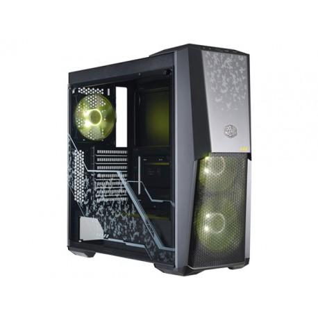 OBUDOWA COOLER MASTER MASTERBOX MB500 TUF EDITION MIDI TOWER Z OKNEM BEZ PSU LED RGB