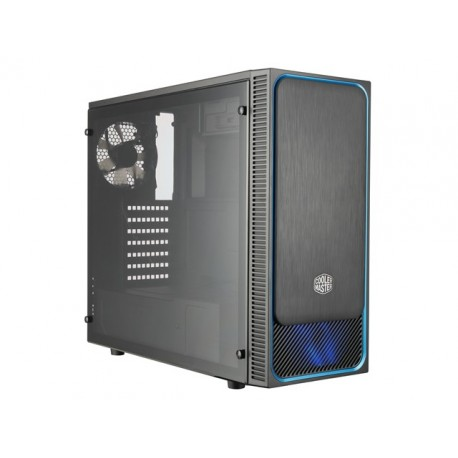 OBUDOWA COOLER MASTER MASTERBOX E500L BLUE MIDI TOWER Z OKNEM BEZ PSU