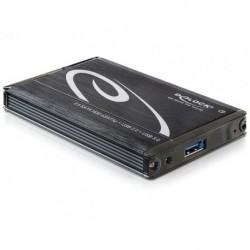 """OBUDOWA HDD ZEWNĘTRZNA DELOCK SATA 2.5\"""" USB 3.0 ESATA POWER CZARNA (PO TESTACH)"""