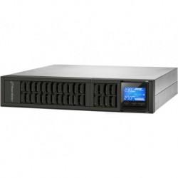 """UPS POWERWALKER ON LINE 2000VA 4X IEC OUT, USB RS 232, LCD, RACK 19\"""" TOWER (USZKODZONE OPAKOWANIE)"""