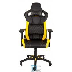 Corsair Fotel Gamingowy T1 RACE 2018, Czarno-żółty