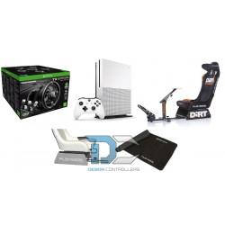 Fotel Playseat Dirt + konsola XBOX One S 1TB + sanki + mata + kierownica