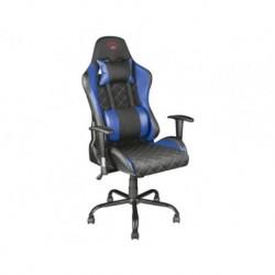 Fotel dla gracza gamingowy TRUST GXT 707B Resto czarno-niebieski