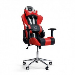Fotel dla gracza Diablochair X-Eye czarno-czerwony