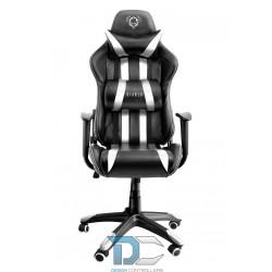 Fotel gamingowy Diablochair X-one Large - czarno-biały