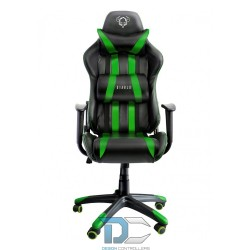 Fotel dla gracza Diablochair X-One Large czarno-zielony