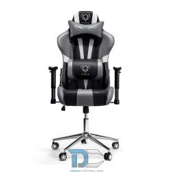 Fotel dla gracza Diablochair X-Eye czarno-szary