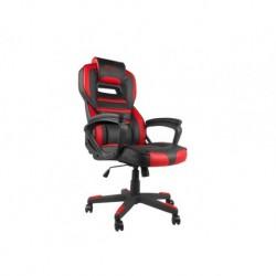 Fotel gamingowy Genesis Nitro 350, czarno-czerwony