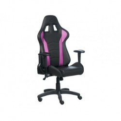 FOTEL GAMINGOWY COOLER MASTER CALIBER R1 CZARNO FIOLETOWY