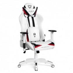 Fotel dla graczy Diablochair X-Ray XLarge (XL) - biały