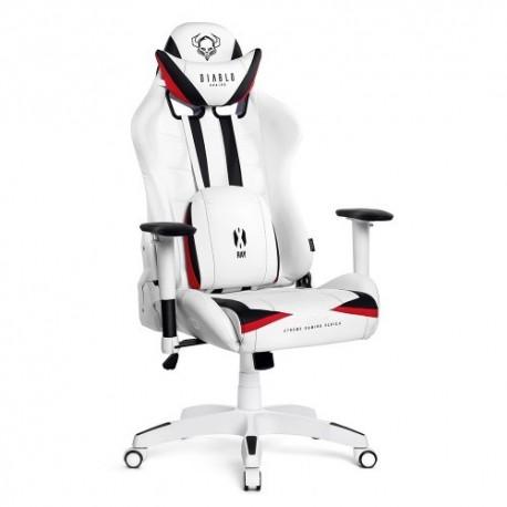 czarno-biały fotel gamingowy Diablo X-Ray XLarge (XL)