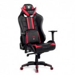 Fotel dla graczy Diablochair X-Ray XLarge (XL) - czarno-czerwony