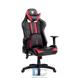 czarno-czerwony fotel gamingowy Diablo X-Ray Large (L)