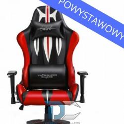 Fotel dla gracza Warriors Chair Sword Red powystawowy