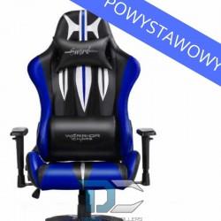 Fotel dla gracza Warriors Chair Sword Blue powystawowy