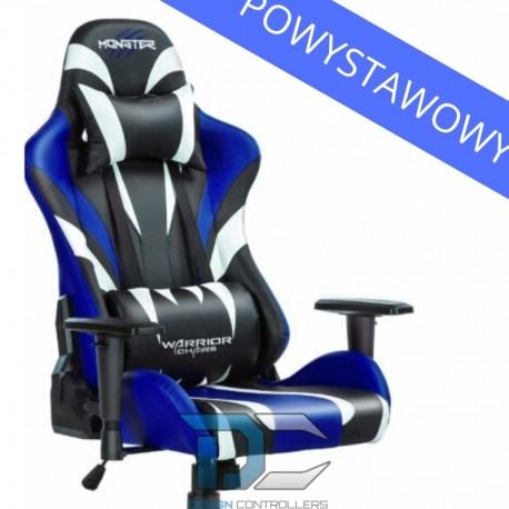 Fotel dla gracza Monster - Blue