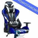 Fotel dla gracza Monster - Blue Warriors Chair powystawowy