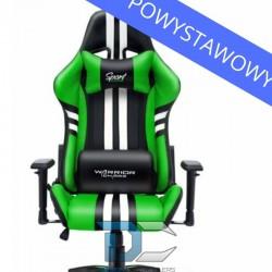 Fotel dla gracza Sport Extreme Green Warriors Chair powystawowy
