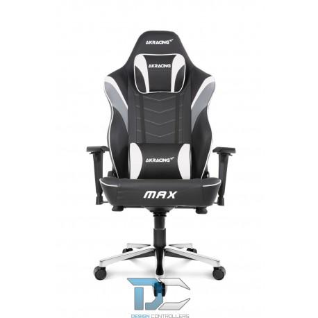 Fotel dla gracza AKRACING Masters MAX – Biały