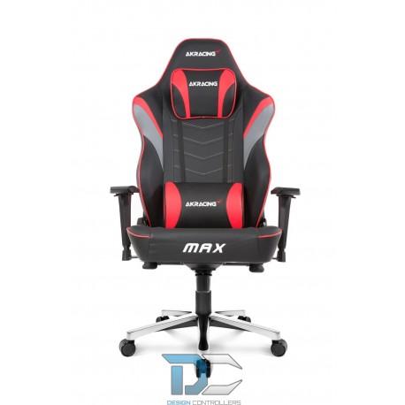 Fotel dla gracza AKRACING Masters MAX – czerwony