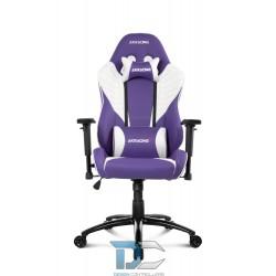 Fotel dla gracza AKRACING Core SX – Biały/Lawenda