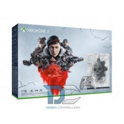 Konsola Xbox One X 1TB wersja limitowana z grami Gears 5 Ultimate, Gears of War Ultimate, Gears of War 2,3,4