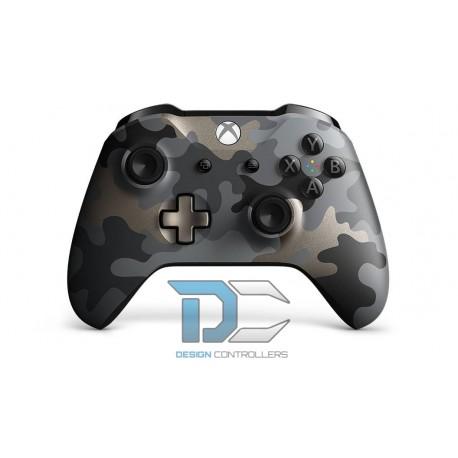 Kontroler bezprzewodowy dla konsoli Xbox Night Ops Camo Special Edition