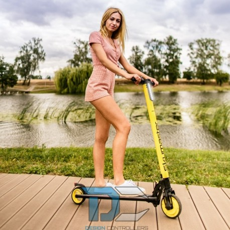 elektryczna hulajnoga limonkowa Squeeze skymaster