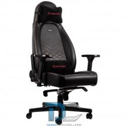 Fotel dla gracza Noblechairs ICON czarno-czerwony
