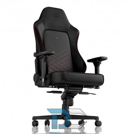 Fotel dla gracza Noblechairs HERO (czarno-czerwony)