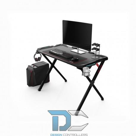 Biurko gamingowe Ultradesk Action czarne