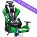Fotel dla gracza Monster - Green Warriors Chair powystawowy