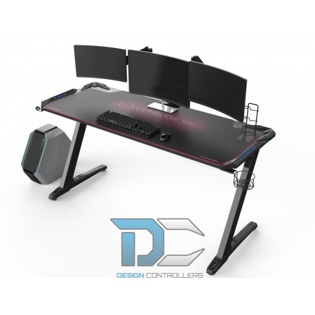 Biurko Ultradesk SPACE XXL różowe