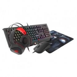 Zestaw dla graczy 4w1, słuchawki,myszka,podkładka i klawiatura GENESIS COBALT 330