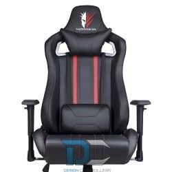 Fotel dla gracza krzesło gamingowe REVOLT czerwone - Warrior chair