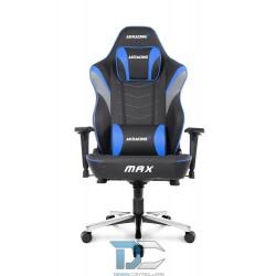 Fotel dla gracza AKRACING Masters MAX – niebieski