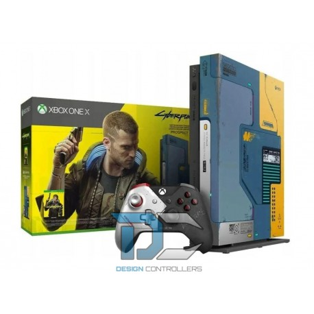 Konsola Xbox One X 1 TB Cyberpunk 2077 Limited Edit