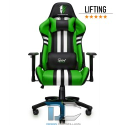 Fotel dla gracza Sport Extreme Green Warriors Chair