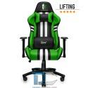 Fotel dla gracza Sport Extreme Green Warriors Chair