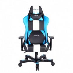 Fotel gamingowy Crank Series Bravo Niebiesko Biało Czarny