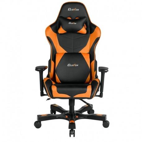 Fotel gamingowy Crank Series Echo Pomarańczowy