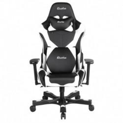 Fotel gamingowy Crank Series Echo Czarno-Biały