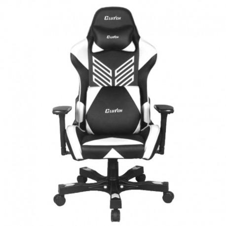 Fotel gamingowy Crank Series Onylight Edition Czarno-biały