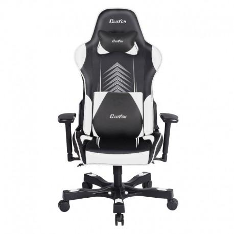Fotel gamingowy Crank Series Poppaye Edition Czarno-Biały