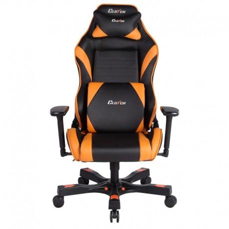 Fotel gamingowy Gear Series Alpha Pomarańczowy
