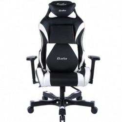 Fotel gamingowy Gear Series Alpha Czarno-Biały