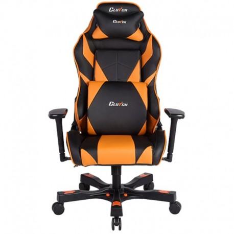 Fotel gamingowy Gear Series Bravo Pomarańczowy